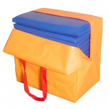Siesta folding mat with bag