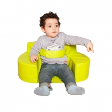 Safety foam baby chair