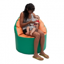 Nursing wrap armchair