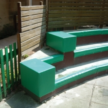 Special bench protection