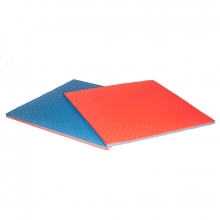 Martial arts puzzle mat flooring
