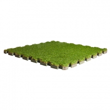 Grass puzzle flooring tile