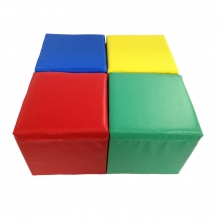 Pack foam cubes