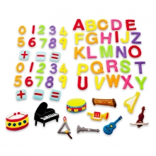 Letters, numbers and music pack