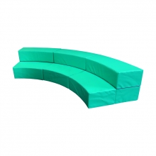Curved bleachers 3 PCS